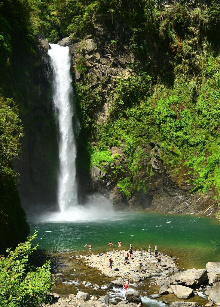Cascada Tappiya en Batad, Filipinas