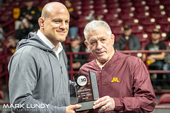2019 B1GTEN Conference Coach of the Year Cael Sanderson PSU