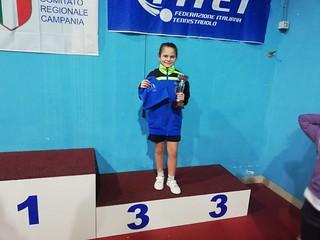 Il terzo posto nel tabellone di consolazione di Sofia Episcopo nel torneo di quinta categoria