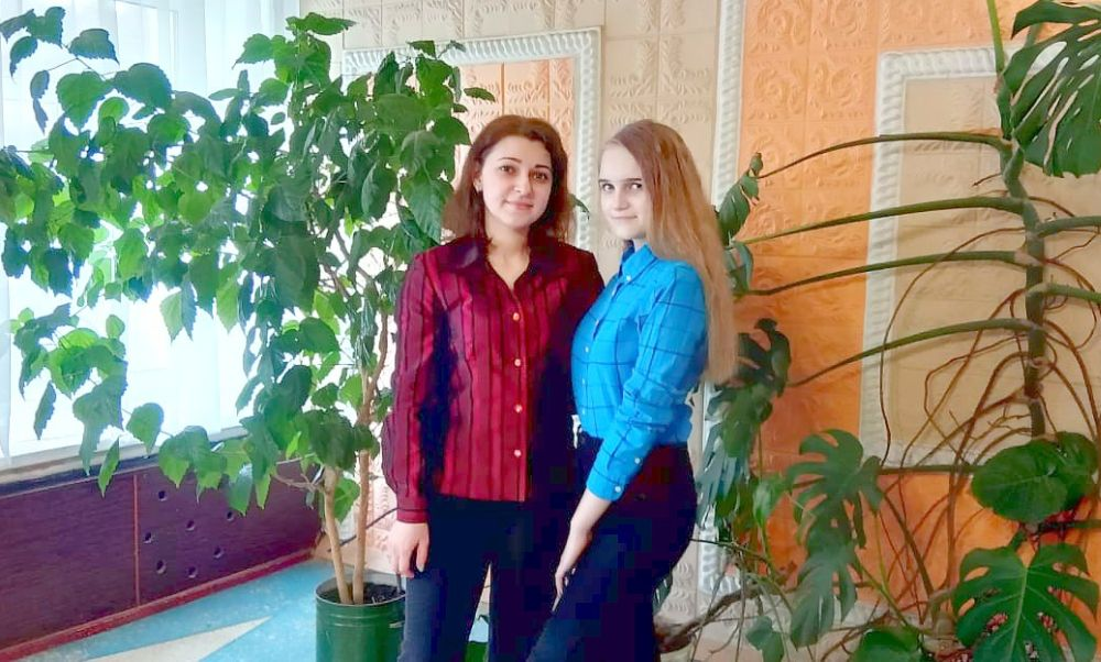 Ирина Васильева и ее ученица Катя Казначеева
