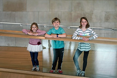Jack, Emma, and Olivia Visit The Art Institute