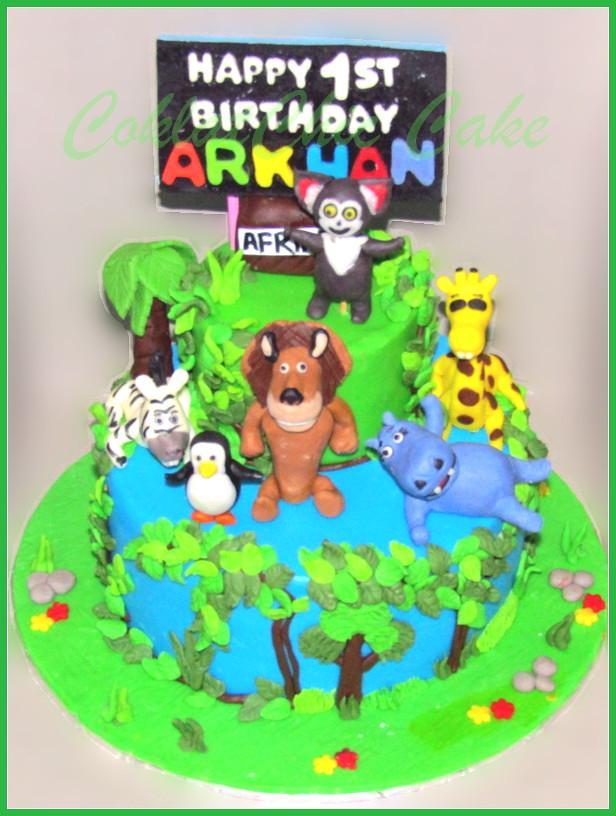 cake madagascar ARKHAN 18 cm +