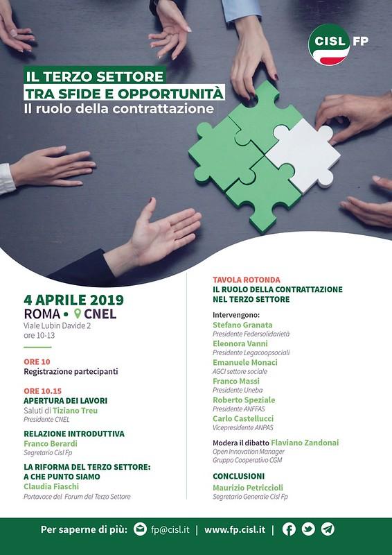 4 aprile: Castellucci (Anpas) al convegno CISL