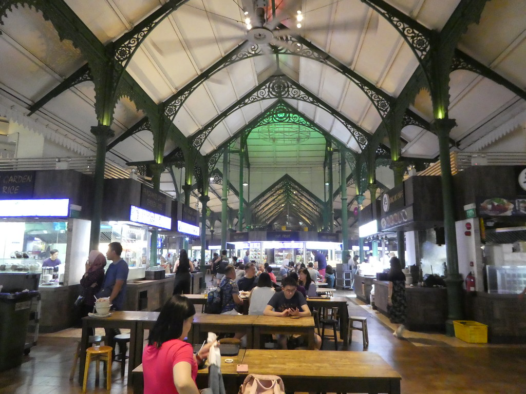 Lau Pa Sat Hawker Centre, Singapore