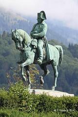 38 LAFFREY - Statue équestre de Napoléon Ier