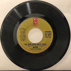 MFSB FEATURING THE THREE DEGREES:LOVE IS THE MESSAGE(RECORD SIDE-B)