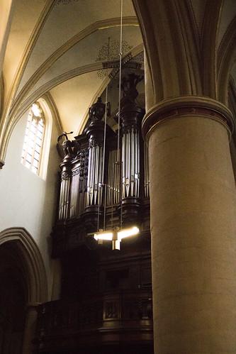 órgano de la catedral de San Quintín