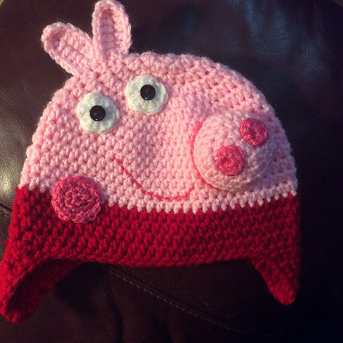 MCatherineL's Peppa Pig from Peppa and George Pig by It's So Crochet