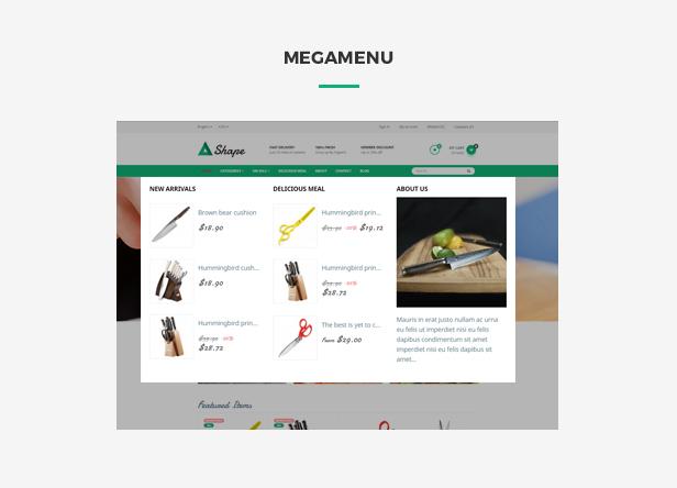 Ap Sharp Responsive Prestashop Tool Theme - smart megamenu