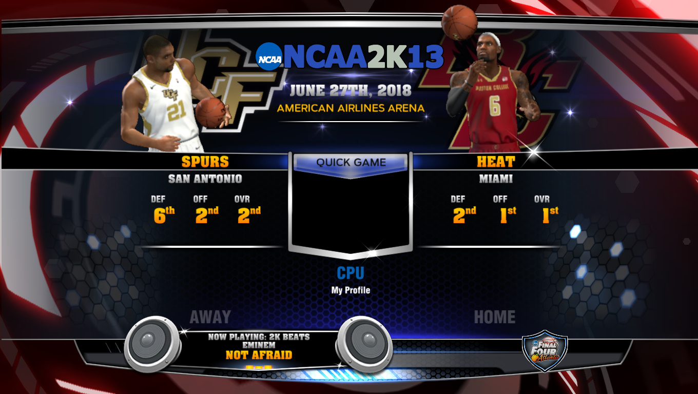 NLSC Forum • NCAA 2K13 (Unfinished Project)