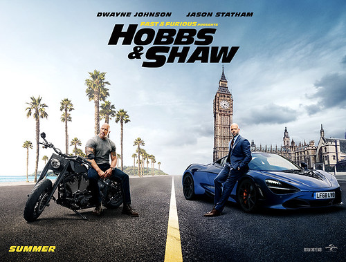 Hobbs & Shaw - Poster 2