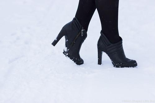 Talvikengät, Calvin Klein, nilkkurit
