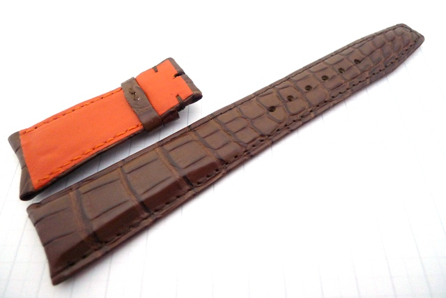 22/18 135/55 Brown w Orange lining