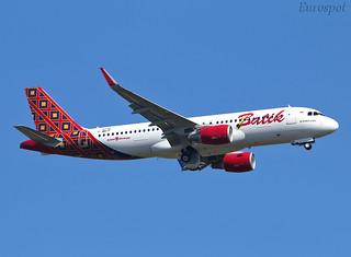 F-WWIP Airbus A320 Batik