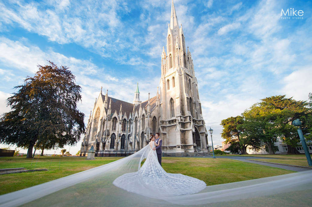 """""""紐西蘭海外婚紗,但尼丁,教堂婚紗,車站婚紗,星空婚紗,婚攝Mike,婚禮攝影,婚攝推薦,婚攝價格,海外婚紗,海外婚禮,風格攝影師,新秘Juin,wedding"""""""