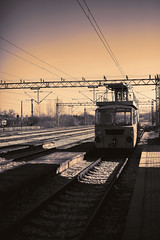 Old Small Locomotive