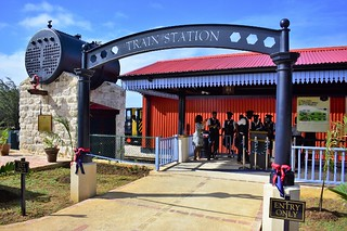 Official opening of the St Nicholas Abbey Heritage Railway (1) | by barbadosgovernmentinformationservice