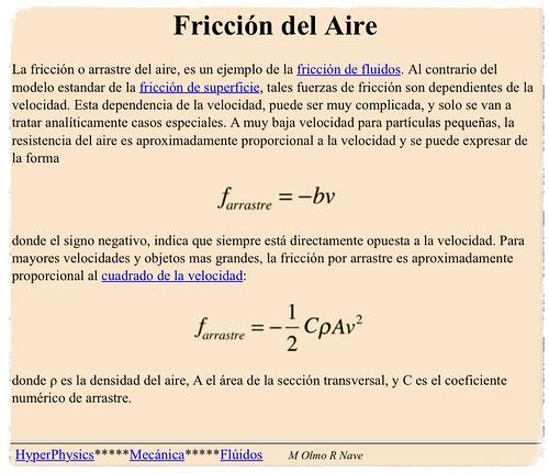 La fórmula maldita de la aerodinámica