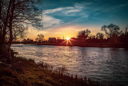 Sunset on River Boyne II