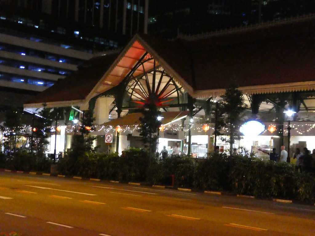 The Lau Pa Sat Hawker Centre, Singapore