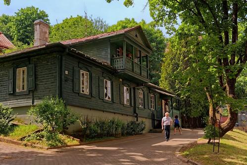 Vilnius / Museum of the Holocaust / Holokausto Muziejus / La Maison Verte / The Green House