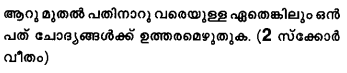 Plus Two Computer Application Model Question Papers Paper 1B