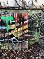 Hemlock Overlook graffiti hut