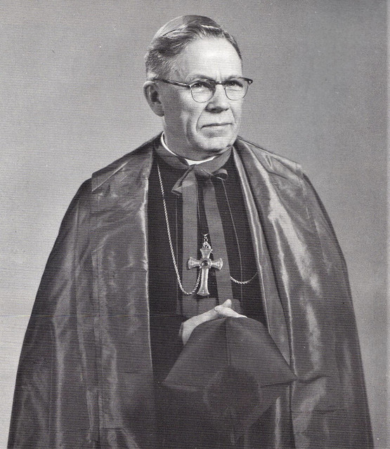 Bishop of Great Falls Most Reverend William J. Condon in 1966 Montana