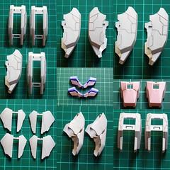 Panel line scribing  Armor modifications Anazasi Custom