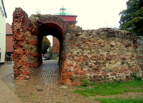 Roman Balkerne Gate in Colchester | by Tony Worrall
