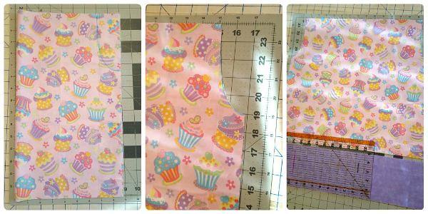 pillowcase dress step 1