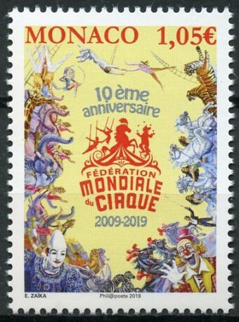 Monaco - International Festival of the Circus (January 4, 2019)