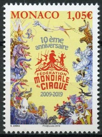 Monaco - International Festival of the Circus (January 4, 2019)