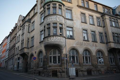 ehemalige Bibliothek, Zeitz