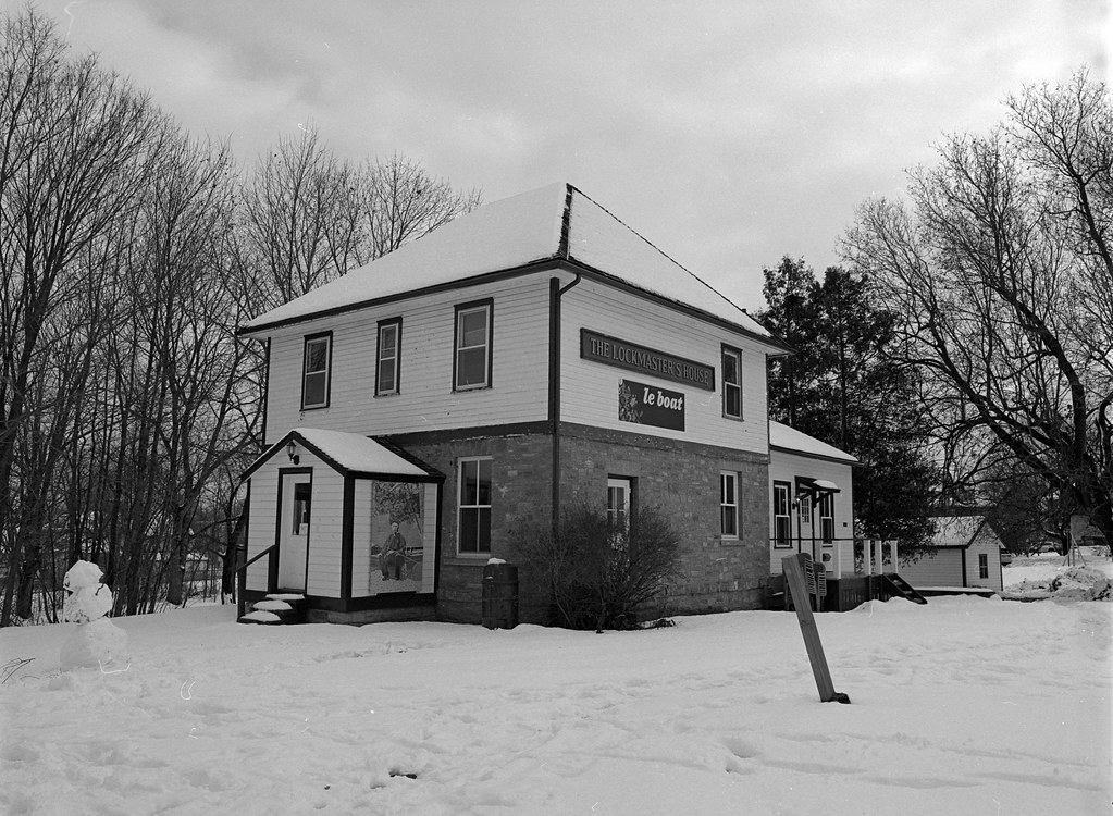 Project:1867 - The Rideau Canal - Smith Falls Lockmaster House