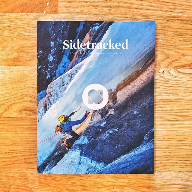 Another real beauty from @sidetrackedmag - anyone who loves travel, adventure, expeditions, or fine photography will enjoy sitting down with this and a cup of tea. Chapeau! #sidetracked #itsgreatoutthere