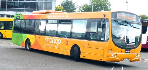 FJ09 BXF 'trentbarton' No. 741 'mango'. Volvo B7RLE / Wright Eclipse /3 on Dennis Basford's railsroadsrunways.blogspot.co.uk'