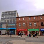 Shops on Fishergate, Preston
