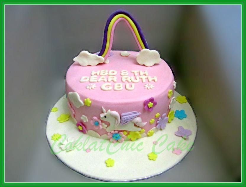 Cake Unicorn RUTH 22cm