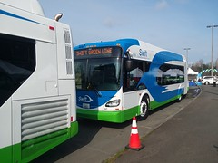 Community Transit's new SWIFT (BRT) line opening festivities