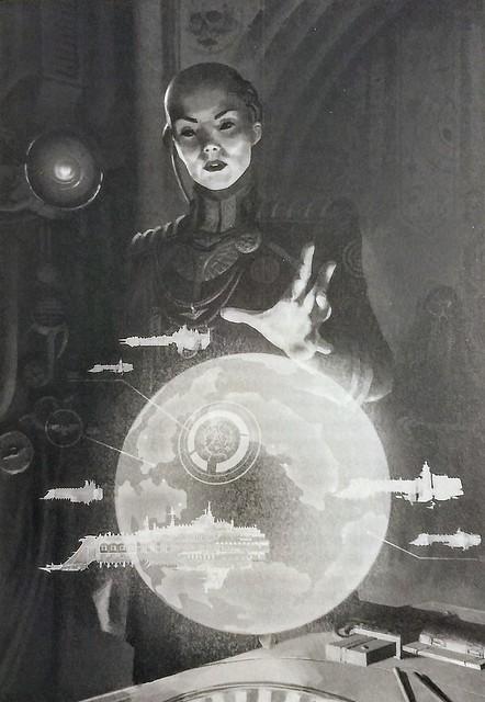 «Осада Терры: Солярная война», иллюстрация