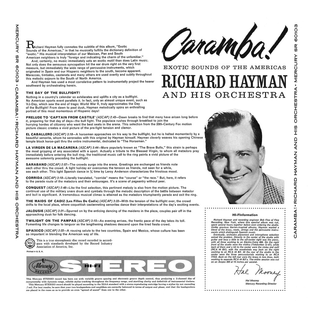 Richard Hayman - Caramba!