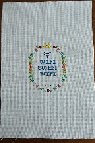 Front of the Cross Stitch