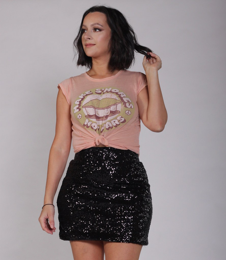 Sequinned Mini
