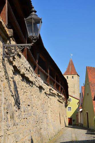 City wall, Berching
