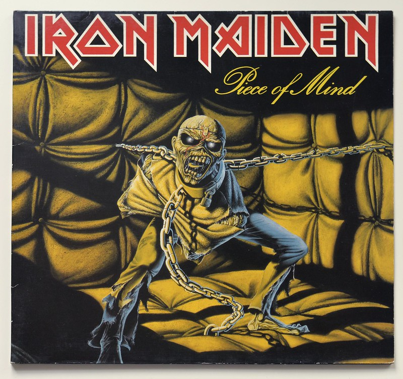 A0359 Iron Maiden Piece of Mind Brown Rim FOC