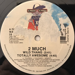 2 MUCH:WILD THING(LABEL SIDE-A)