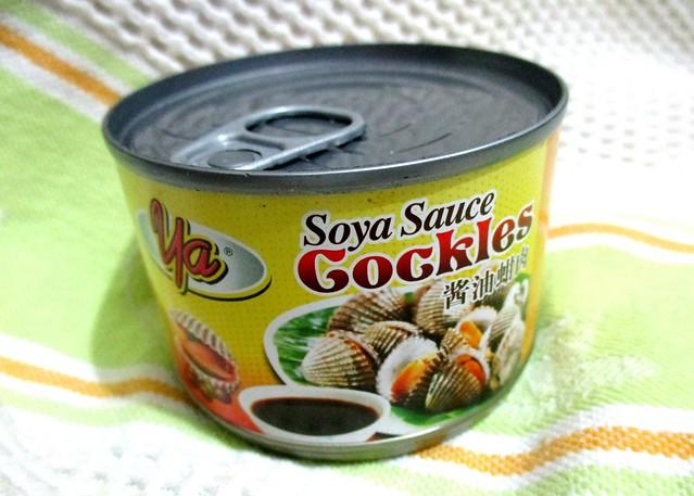Soya sauce cockles