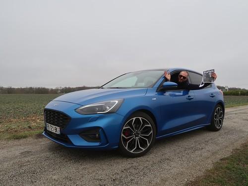 Essai Ford Focus ST Line 2019