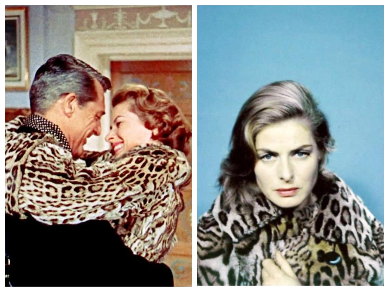 Ингрид Бергман в фильмах Милый Сэр (1958) и Визит (1964)
